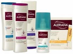 Лечебные шампуни Алерана