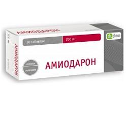 Таблетки Амиодарон 200 мг