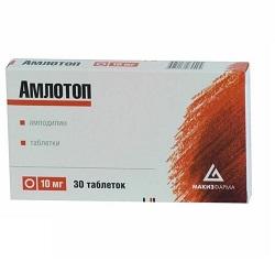 Амлотоп в таблетках 10 мг