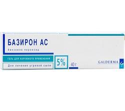 5% гель Базирон АС