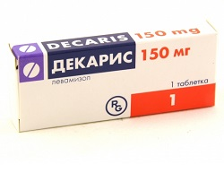 Декарис в дозе 150 мг