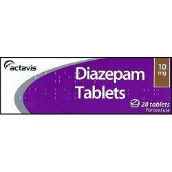 Диазепам в таблетках 10 мг