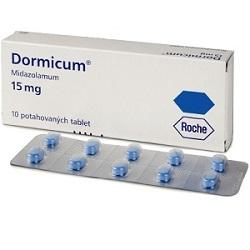 Дормикум в таблетках 15 мг