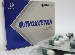 Капсулы Флуоксетин