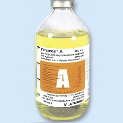 Препарат для парентерального питания Гепасол А