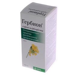Отхаркивающее средство Гербион сироп первоцвета