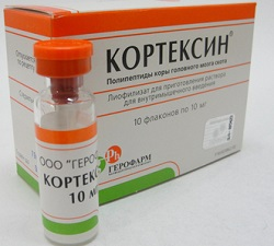 Кортексин в дозе 10 мг