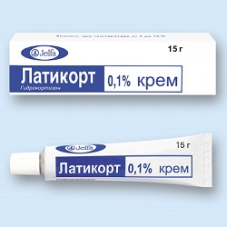 0,1% крем Латикорт