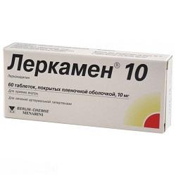 Таблетки Леркамен 10