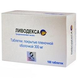 Ливодекса в таблетках 300 мг