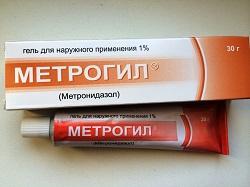 Гель для наружного применения Метрогил