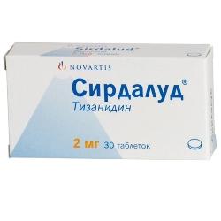 Таблетки Сирдалуд